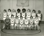 Northeast Alabama State Junior College Mustangs Men's Basketball Team Photograph, 1976-77