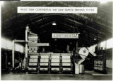 Front view of Continental Gin Company 4-80 saw simplex ginning system at 1939 Dallas (Tex), Cotton Ginners Convention.
