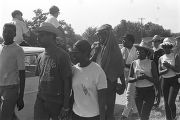 "Participants in the ""March Against Fear"" begun by James Meredith."