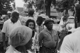 "Participants in the """"March Against Fear"""" begun by James Meredith."