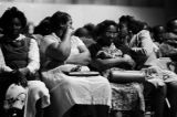 Women in the audience during a political rally featuring members of SNCC and the Dallas County...