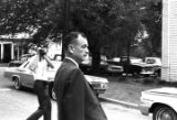Thomas L. Coleman crossing the street after leaving the Lowndes County courthouse in Hayneville,...