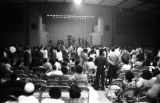 Audience after a political rally featuring members of SNCC and the Dallas County Independent Free...