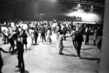 Men and women dancing after a political rally featuring members of SNCC and the Dallas County...