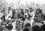 Students from Tuskegee Institute during a demonstration to protest the murder of Samuel L. Younge,...