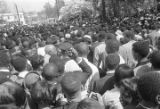 Crowd at Martin Luther King, Jr.'s funeral procession.
