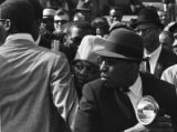 Mourners at Martin Luther King, Jr.'s funeral.