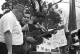 Musicians at a Ku Klux Klan rally in Montgomery, Alabama.
