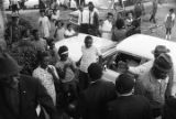 "Martin Luther King, Jr., William M. Branch, Ralph Abernathy, Ben ""Sunshine"" Owens, and..."