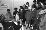 "Children in the group ""Buds of Promise"" from Mt. Zion AME Zion Church in Montgomery,..."