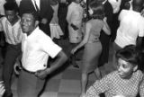 Men and women dancing at the Elks Club in Montgomery, Alabama, during a performance by Bobby...