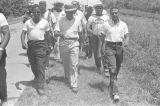 "Martin Luther King, Jr., Andrew Young, and others, participating in the ""March Against..."