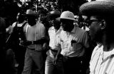 "Martin Luther King, Jr., James Meredith, and others, participating in the ""March Against..."