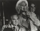 George Wallace with Tammy Wynette during a political campaign.