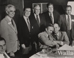 George Wallace with Alabama political figures during his last gubernatorial campaign.