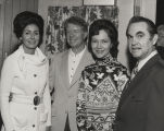 George and Cornelia Wallace with Jimmy and Rosalynn Carter.