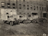 Trucks used by the Alabama Relief Administration.