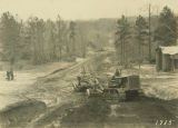 Work on the road between Marion and Blocton in Bibb County, Alabama.