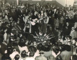 """Hank Williams at opening of Chevrolet dealership in Luverne"" in Crenshaw County,..."