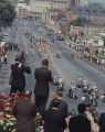 Funeral procession for Governor Lurleen Wallace up Dexter Avenue toward the Capitol in Montgomery,...