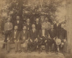 6th Alabama Infantry reunion at Jackson's Lake in Elmore County, Alabama.