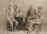 Four commanders of the Alabama Division of the United Confederate Veterans, at a reunion in Macon...