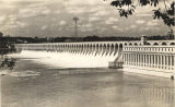 Wilson Dam at Muscle Shoals, Alabama.