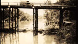 Bridge over the Conecuh River in Escambia County, Alabama.