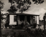 Home of a rural family serviced by WPA Housekeeping Aide program in Escambia County, Alabama.