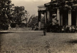 Section of portico of Gaineswood, built in Demopolis, Alabama, by General Nathan Bryan Whitfield.