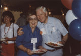 Helen Hunt, with a man at a social event during the National Governors Association annual meeting...