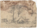 Sketch of the engineer corps camp of the Army of Mississippi, near Marietta, Georgia.
