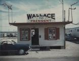 George Wallace headquarters on South China Lake Boulevard in Ridgecrest, California, during the...