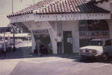 George Wallace headquarters on J Street in Modesto, California, during the 1968 presidential...