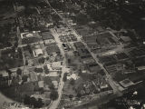 Aerial view of Andalusia, Alabama.