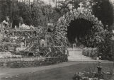 Main grotto and Italian miniature section at the Ave Maria Grotto at St. Bernard College in...