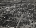 Aerial view of Decatur, Alabama.