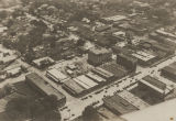 Aerial view of Gadsden, Alabama.