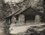 Cabin at Monte Sano State Park in Madison County, Alabama.