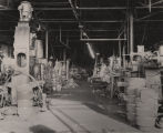 Machinery inside the Standard Forge and Axle Company in Montgomery, Alabama.