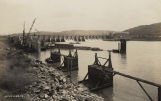 Guntersville Dam of the Tennessee Valley Authority, on the Tennessee River in Marshall County,...