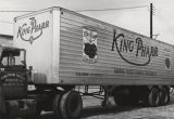 Semitrailer truck of King Pharr Canning Operations, Inc., in Cullman, Alabama.