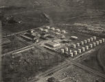 Aerial view of the Wofford Oil Company plant in Birmingham, Alabama.