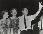 Lurleen and George Wallace, probably during a political campaign.