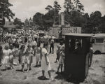 Crowd at a carnival in Alabama.