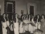 All-girl orchestra from Sacred Heart School in Cullman, Alabama, performing at the first annual...