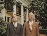 Governor Albert Brewer and Winton Blount, president of the United States Chamber of Commerce, on...