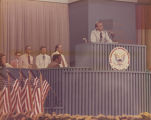George Wallace speaking at the Democratic National Convention in Miami, Florida.