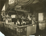 Women's suffrage booth at state fair, Birmingham