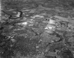 Aerial view of northeastern Montgomery, Alabama, facing northwest and shot from 11,000 feet.
